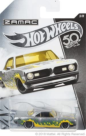 HOT WHEELS DIECAST - Zamac 68 Plymouth Barracuda Formula S