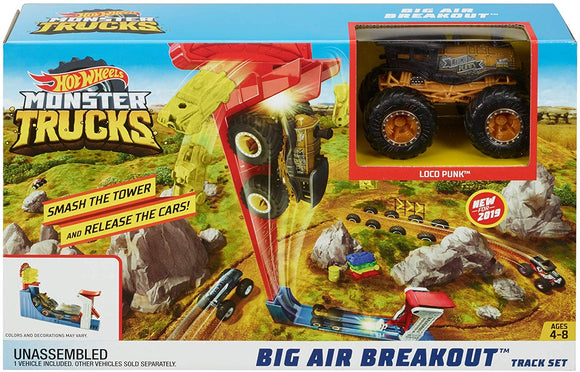 HOT WHEELS MONSTER TRUCKS - Big Air Breakout