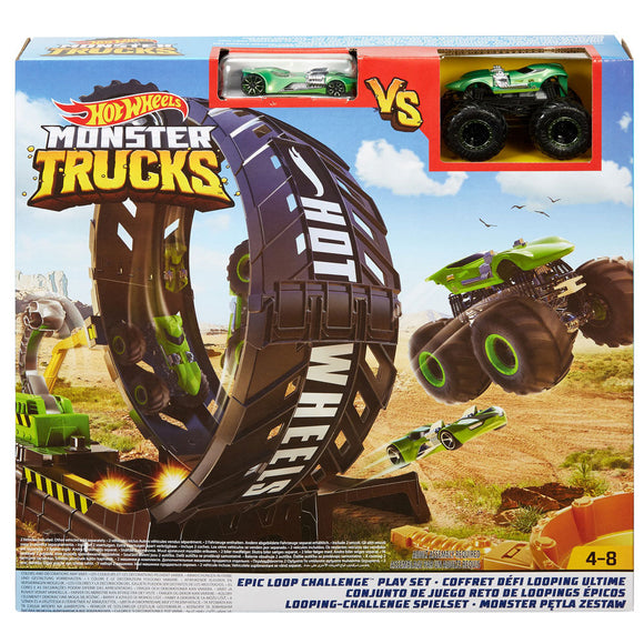 HOT WHEELS MONSTER TRUCKS - Epic Loop Challenge Playset