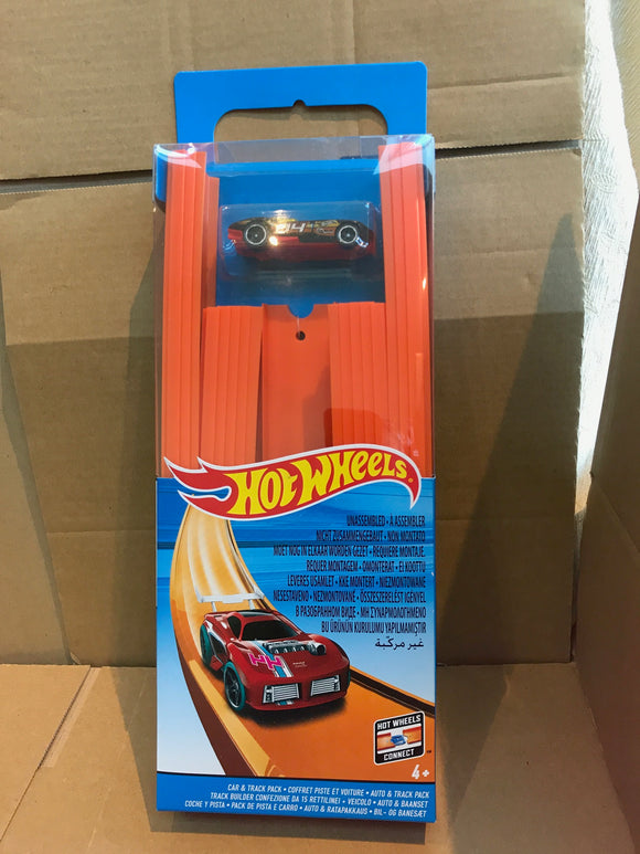 HOT WHEELS Track Builder - Car and Track Pack set