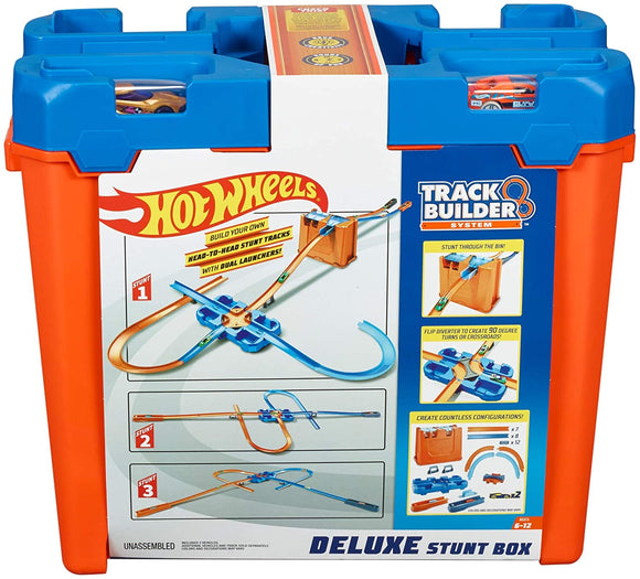 HOT WHEELS Track Builder System - Deluxe Stunt Box