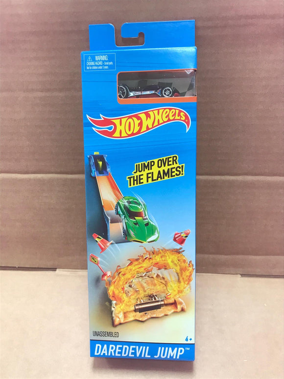 HOT WHEELS Track Builder - Daredevil Jump Track set