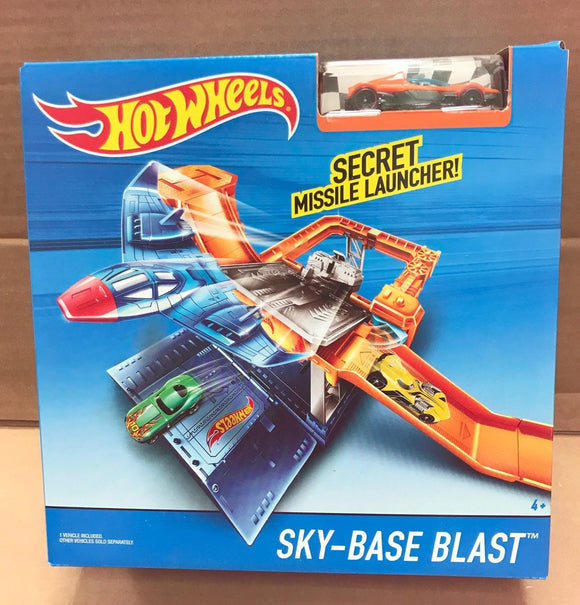 HOT WHEELS Track Builder - Sky-Base Blast