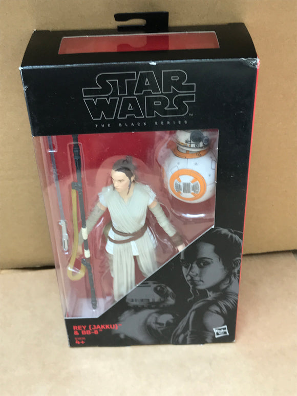 Star Wars - The Black Series No. 02 - Rey Jakku and BB-8