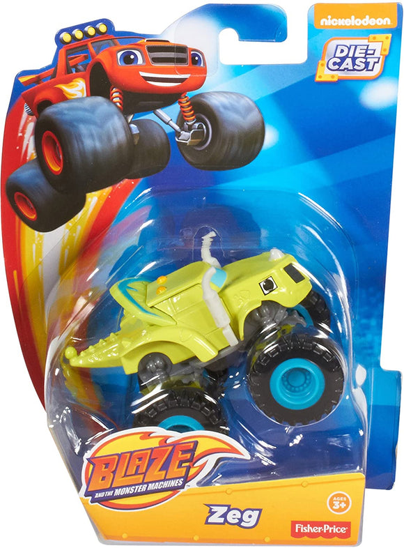 Blaze and the Monster Machines Diecast - Zeg