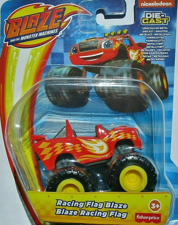 Blaze and the Monster Machines Diecast - Racing Flag Blaze