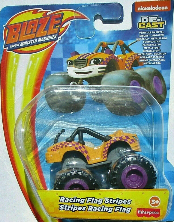Blaze and the Monster Machines Diecast - Racing Flag Stripes