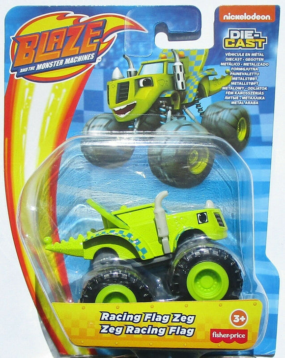Blaze and the Monster Machines Diecast - Racing Flag Zeg