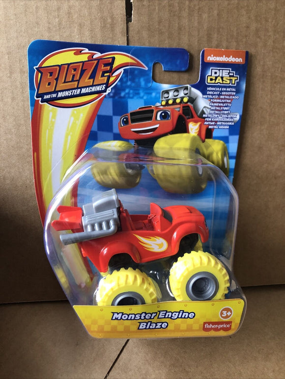 Blaze and the Monster Machines Diecast - Monster Engine Blaze