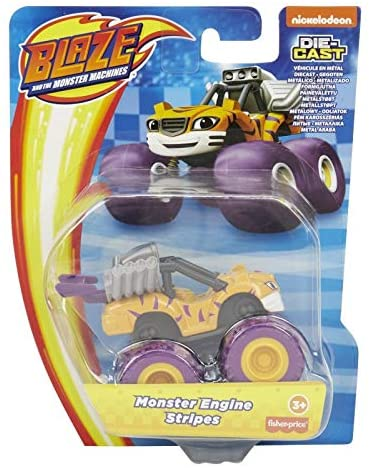 Blaze and the Monster Machines Diecast - Monster Engine Stripes