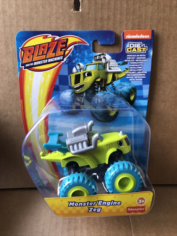 Blaze and the Monster Machines Diecast - Monster Engine Zeg
