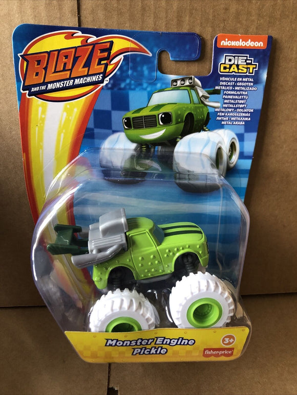 Blaze and the Monster Machines Diecast - Monster Engine Pickle