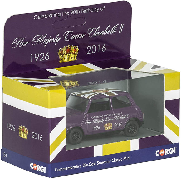 Corgi Special Edition Diecast - Queen Elizabeth II 90th Birthday - Classic Mini