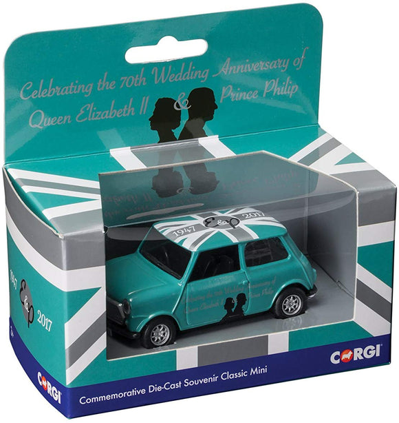 Corgi Special Edition Diecast - Queen Elizabeth II 70th Wedding - Classic Mini