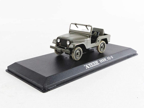 GREENLIGHT HOLLYWOOD DIECAST 1:43 Scale - The A Team Jeep CJ-5