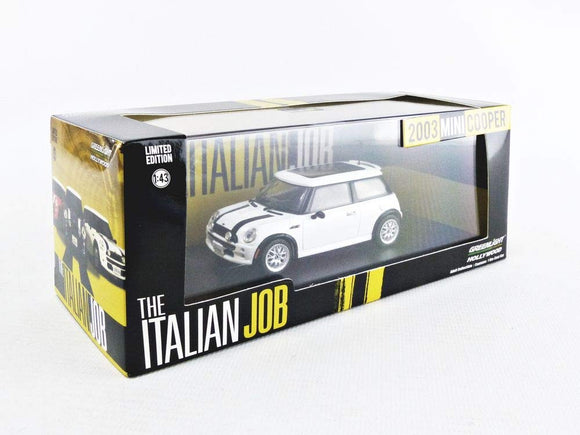 Greenlight Hollywood Diecast - Italian Job 2003 Mini Cooper S White