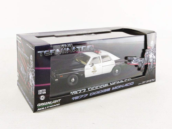 GREENLIGHT HOLLYWOOD DIECAST - TERMINATOR - 1977 Dodge Monaco