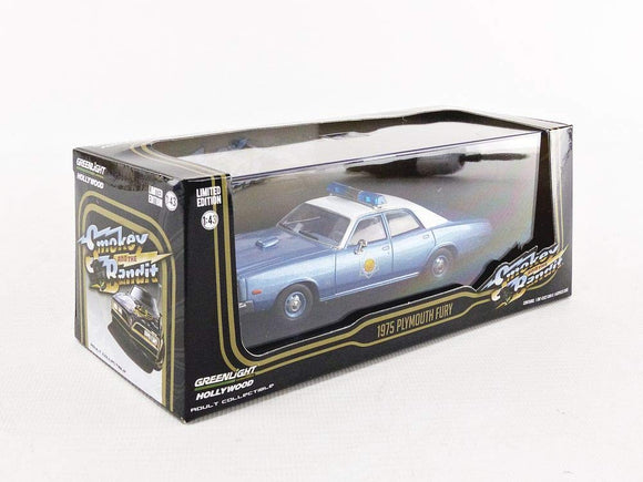 Greenlight Hollywood Diecast - Smokey And The Bandit - 1975 Plymouth Fury