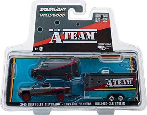 GREENLIGHT HOLLYWOOD DIECAST - Hitch and Tow - The A-Team