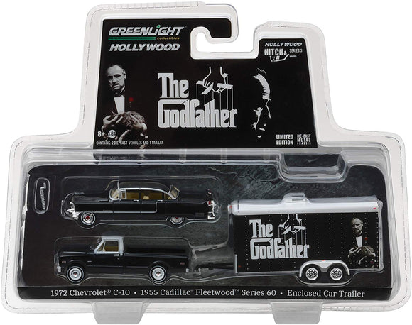 GREENLIGHT HOLLYWOOD DIECAST - Hitch and Tow - The Godfather