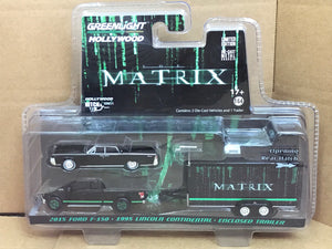 GREENLIGHT HOLLYWOOD DIECAST - Hitch and Tow - The Matrix