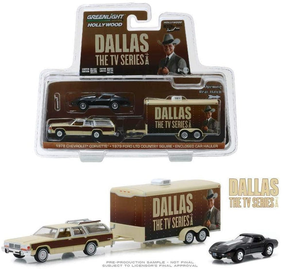 Greenlight Hollywood Diecast - Dallas Hitch and Tow Chevrolet Ford