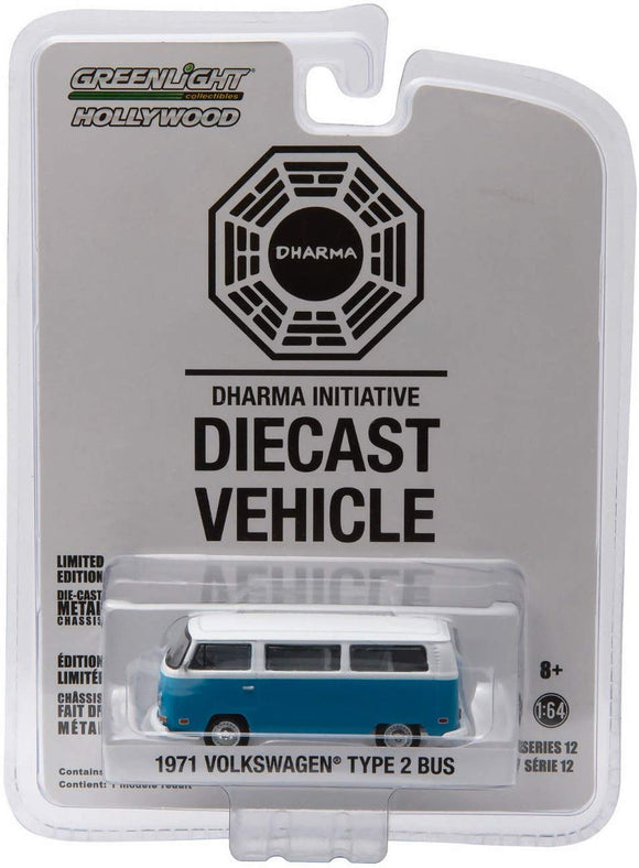 GREENLIGHT HOLLYWOOD DIECAST - Lost 1971 Volkswagen Type 2 Bus