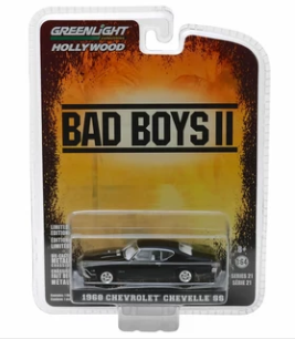 GREENLIGHT HOLLYWOOD DIECAST - Bad Boys II - 1968 Chevrolet Chevelle SS