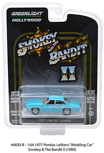 Greenlight Hollywood Diecast - Smokey And The Bandit II - 1977 Pontiac Lemans