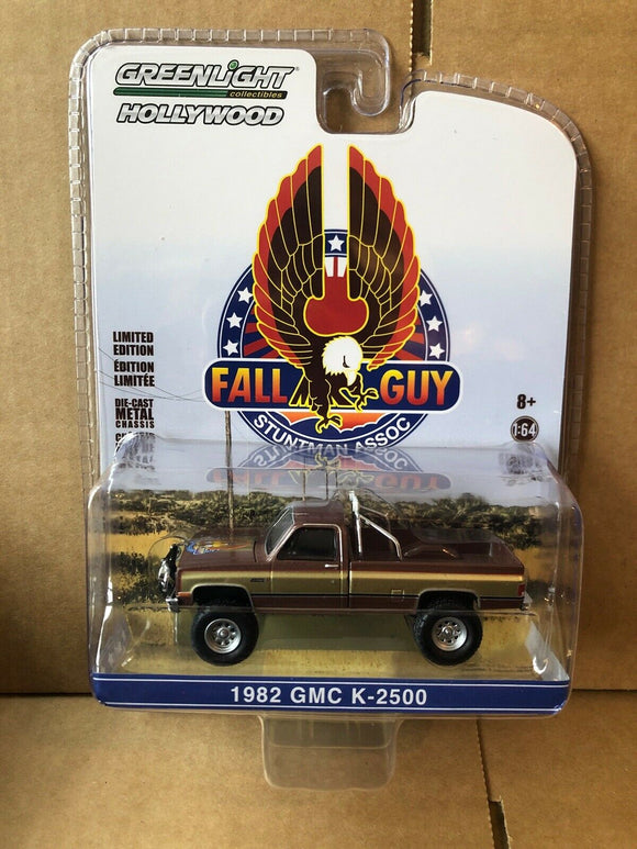 GREENLIGHT HOLLYWOOD DIECAST - Fall Guy 1982 GMC K-2500