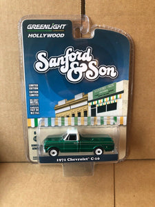 GREENLIGHT HOLLYWOOD DIECAST - Sanford and Son 1971 Chevrolet C10