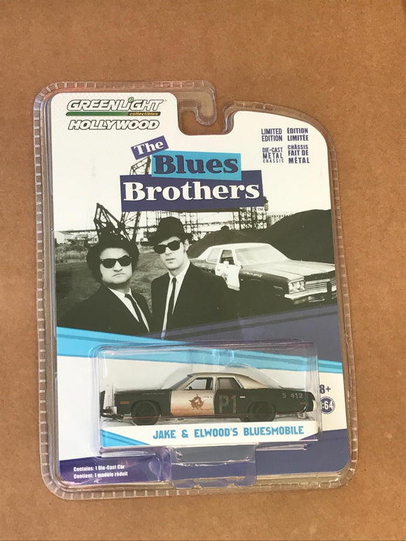 Greenlight Hollywood Diecast - Blues Brothers Bluesmobile