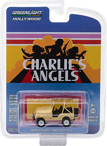 GREENLIGHT HOLLYWOOD DIECAST - CHARLIE'S ANGELS Julie Rogers 1980 Jeep CJ-5