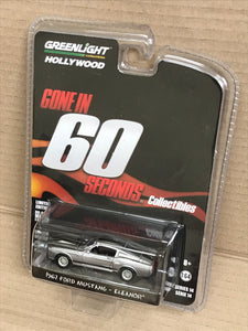 GREENLIGHT HOLLYWOOD DIECAST - GONE IN 60 SECONDS - 1967 Ford Mustang - Eleanor
