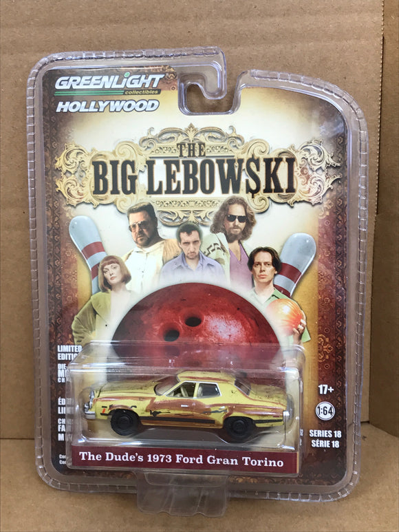 Greenlight Hollywood Diecast - The Big Lebowski - 1973 Ford Gran Torino