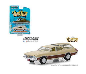 GREENLIGHT HOLLYWOOD DIECAST 1/64 - National Lampoons Vacation 1970 Oldsmobile Vista Cruiser