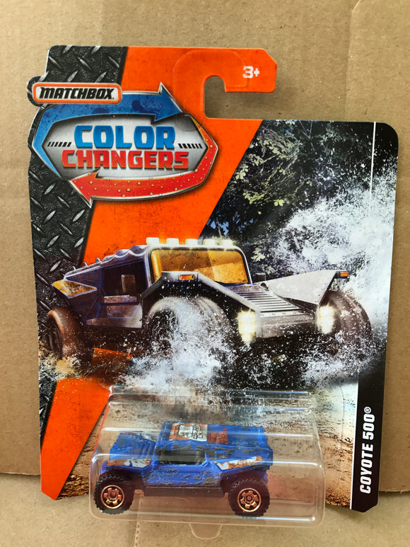 MATCHBOX COLOUR CHANGERS - Coyote 500