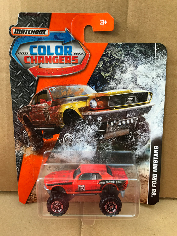 MATCHBOX COLOUR CHANGERS - '68 Ford Mustang