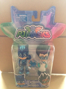 PJ Masks 2 figure pack - Catboy and Romeo