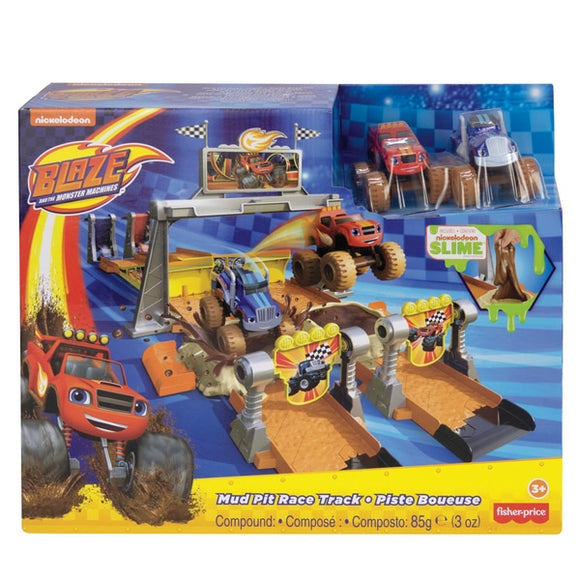 Blaze and the Monster Machines - Mud Pit Race Track