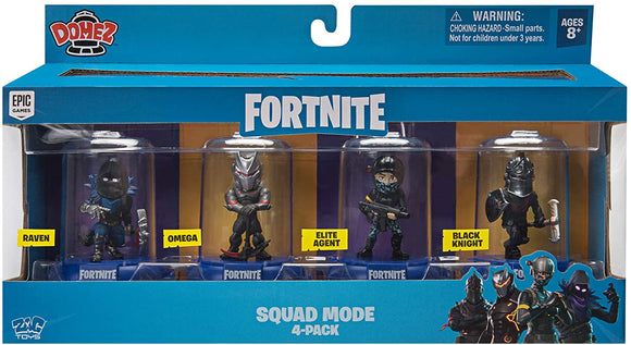 Fortnite - Domez Series 1 Squad Mode 4 Pack