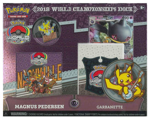 Pokemon Trading Cards 2018 World Championship Deck - Magnus Pedersen