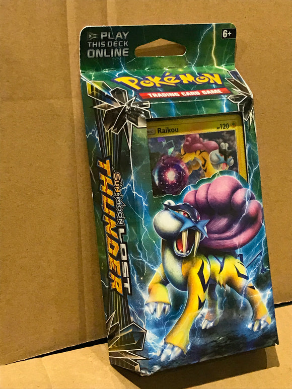 Pokemon Trading Cards - Lost Thunder Storm Caller Theme Deck