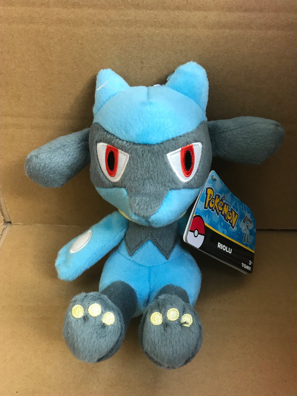Pokemon 8 inch Soft Plush - Riolu