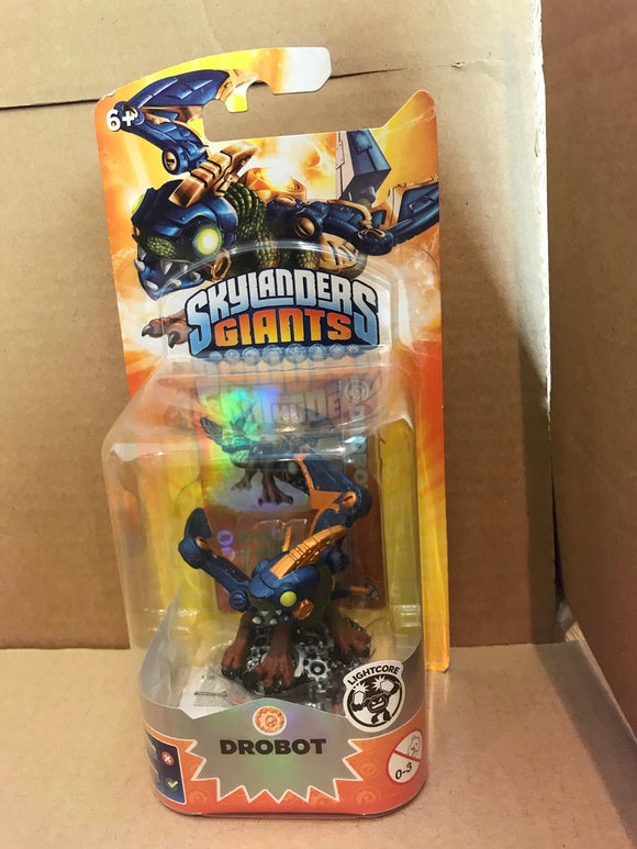 SKYLANDERS GIANTS - Lightcore Drobot