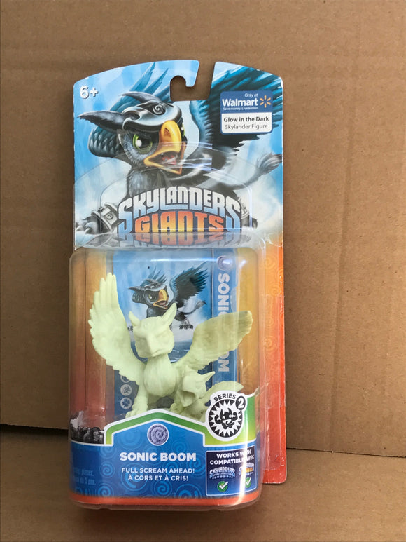 SKYLANDERS GIANTS - Glow in the dark Sonic Boom
