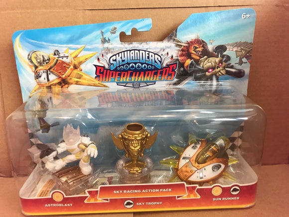 SKYLANDERS SUPERCHARGERS - Sky Racing Action Pack