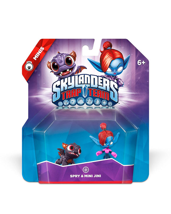 SKYLANDERS TRAP TEAM -  Spry and Mini Jini