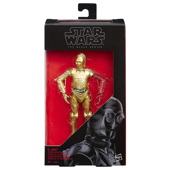 Star Wars - The Black Series No. 29 - C-3PO Resistance Base  - action figure