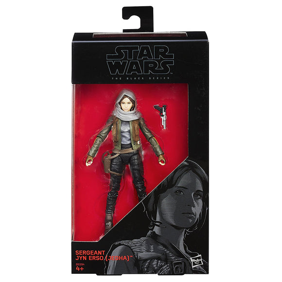Star Wars - The Black Series No. 22 - Sergeant Jyn Erso Jedha - action figure
